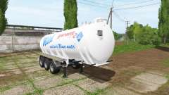 Kotte Garant TSA milk for Farming Simulator 2017