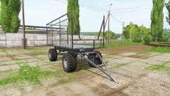 Bale trailer for Farming Simulator 2017
