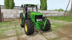John Deere 7530 Premium v2.0 for Farming Simulator 2017