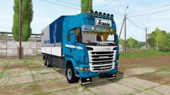 Scania R730 tandem v1.2 for Farming Simulator 2017