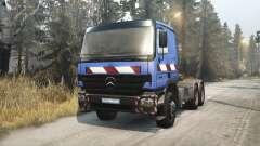 Mercedes-Benz Actros 2646 for Spin Tires