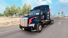 Skin M. and.A Trucking on the truck Peterbilt 57