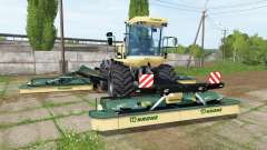 Krone BiG M 500 v3.1 for Farming Simulator 2017