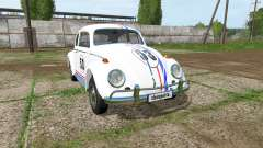 Volkswagen Beetle 1966 v2.0 for Farming Simulator 2017