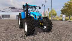 New Holland T7550 v2.0 for Farming Simulator 2013