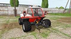 Reform Metrac H6 for Farming Simulator 2017