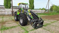 JCB 435S camo edition v1.2 for Farming Simulator 2017