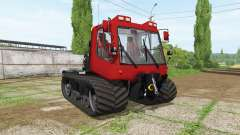 PistenBully 100 for Farming Simulator 2017