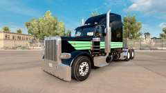 Skin Mint Green and Black for the truck Peterbil