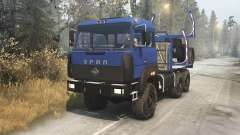 Ural 4320-3111-78 v1.3 for Spin Tires