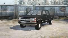 Chevrolet Suburban (GMT400) for MudRunner