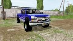 Chevrolet Silverado Crew Cab for Farming Simulator 2017