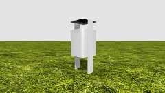Trash can for Farming Simulator 2017