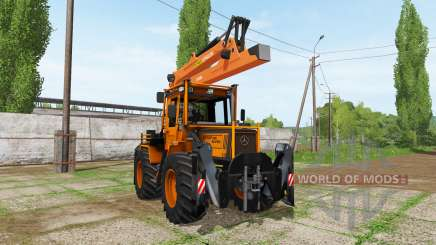 Mercedes-Benz Trac 1000 Turbo forest edition for Farming Simulator 2017