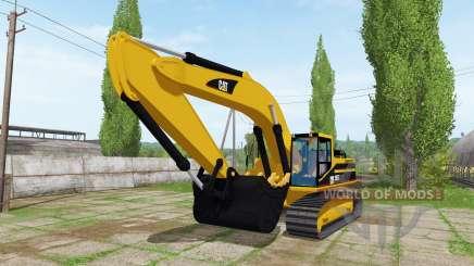 Caterpillar 345B LME for Farming Simulator 2017