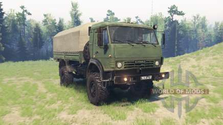KamAZ 4350 for Spin Tires