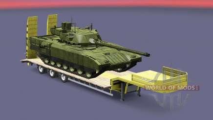 Military cargo pack v1.8 for Euro Truck Simulator 2