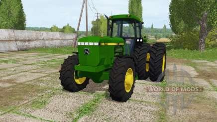 John Deere 4560 v1.2 for Farming Simulator 2017