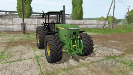 John Deere 4955 v3.1 for Farming Simulator 2017
