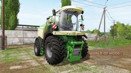Krone BiG X 580 dynamic hoses for Farming Simulator 2017