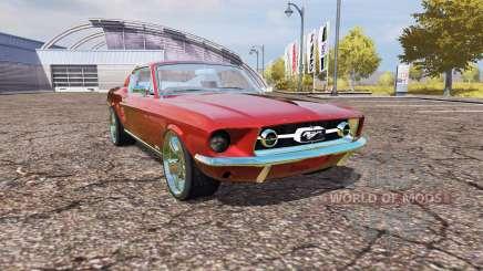 Ford Mustang 1965 v2.0 for Farming Simulator 2013