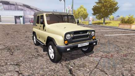 UAZ Hunter (315195-130) for Farming Simulator 2013
