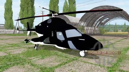 Bell-222 Airwolf for Farming Simulator 2017