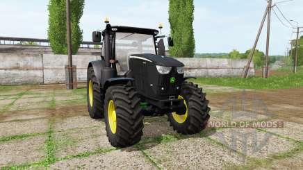 John Deere 6230R black for Farming Simulator 2017