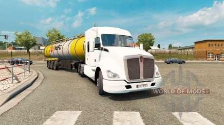 American truck traffic pack v1.3.2 for Euro Truck Simulator 2