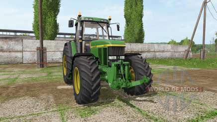 John Deere 7800 v2.0 for Farming Simulator 2017