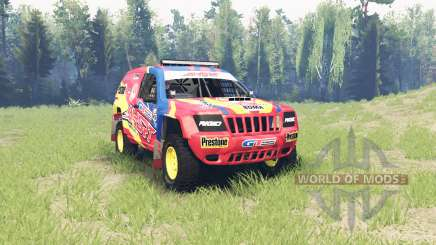 Jeep Grand Cherokee (WJ) Superwolf v1.01 for Spin Tires