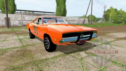 Dodge Charger RT (XS29) 1970 General Lee for Farming Simulator 2017