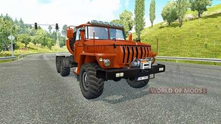 Ural 43202 v3.5 for Euro Truck Simulator 2