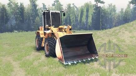Amkodor 333В for Spin Tires