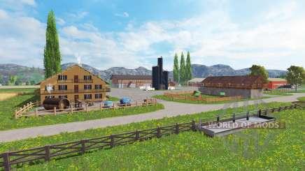 District of Breisgau v1.4 for Farming Simulator 2015