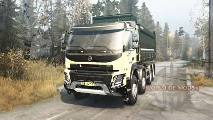 Volvo FMX 2014 v2.1 for MudRunner