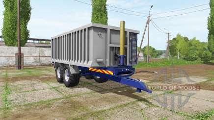 Aluminum trailer for Farming Simulator 2017