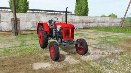 Zetor 25K 1960 v1.2 for Farming Simulator 2017