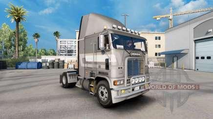 Скин First class metallic на Freightliner FLB for American Truck Simulator