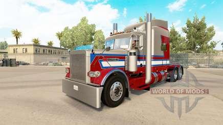 806 Trucking skin for the truck Peterbilt 389 for American Truck Simulator