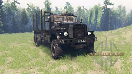 KrAZ 255 for Spin Tires