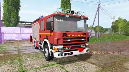 Scania 94D 260 feuerwehr v1.2 for Farming Simulator 2017