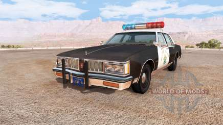 Oldsmobile Delta 88 cop pack v1.5.1 for BeamNG Drive