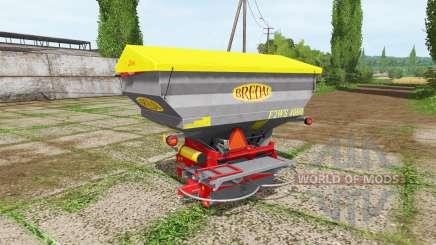 BREDAL F2WS 4000 for Farming Simulator 2017