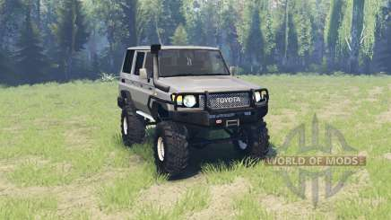 Toyota Land Cruiser 70 v3.01 for Spin Tires