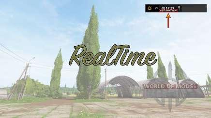 RealTime v2.0 for Farming Simulator 2017