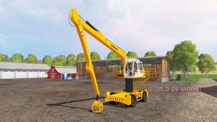 Liebherr A900C long reach for Farming Simulator 2015