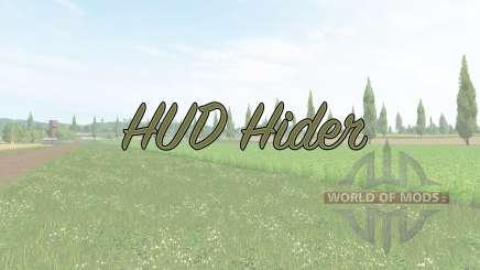 HUD Hider v1.15 for Farming Simulator 2017