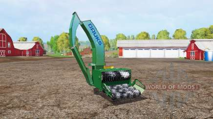 BRUKS wood crusher v1.1 for Farming Simulator 2015