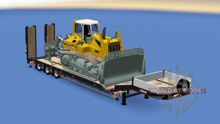 Semitrailer Liebherr PR 764 for Euro Truck Simulator 2